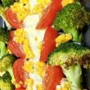 モッツァレラチーズと季節野菜のグリル