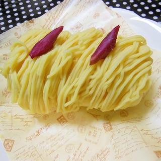 焼き芋→サツマイモペースト→サツマイモクリーム