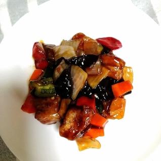 酢豚☆野菜はレンジで時短♪酢鶏 肉団子にも