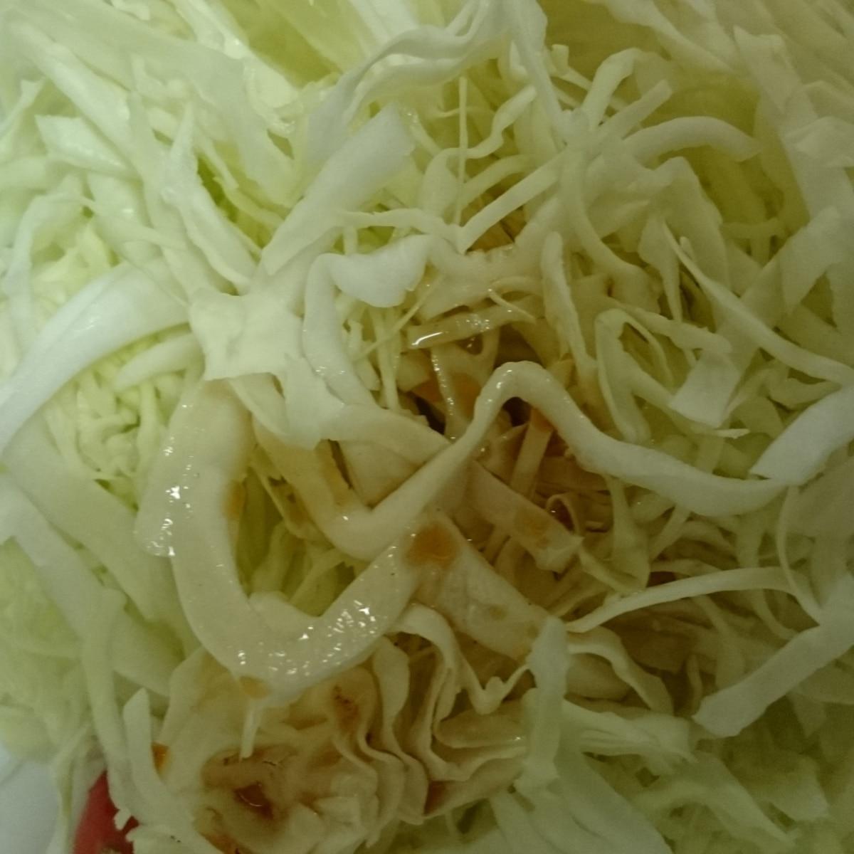 千切り レシピ キャベツ