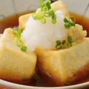 居酒屋メニュー❤揚げ出し豆腐