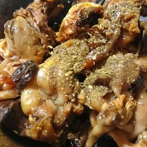 ストウブDe〜鰻の肝の温め方
