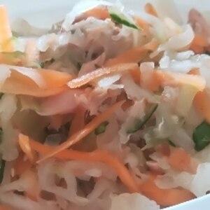 水っぽくならない!ツナ大根サラダ♪