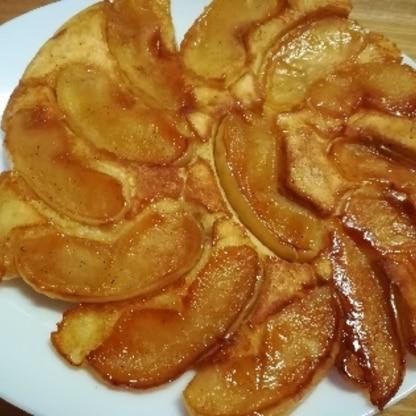味薄のスカスカなりんごを使いましたがしっかり甘み味が染みてgood♪ 美味しく作れました。