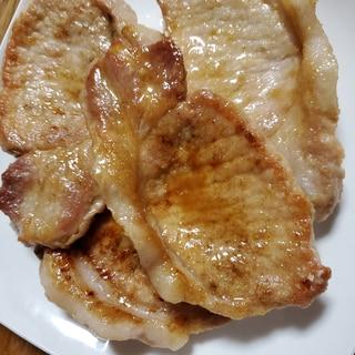 豚ロースの生姜醤油焼き