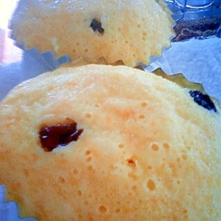 ヘルシー♪豆乳とキャロットの蒸しケーキ