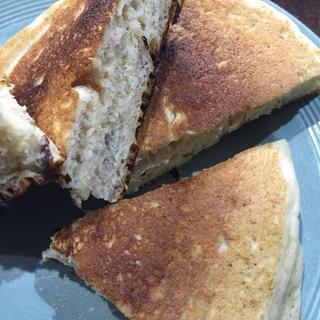栗の渋皮煮入りホットケーキ