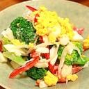 ブロッコリーの明太たまごサラダ