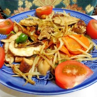 生椎茸の炒め物