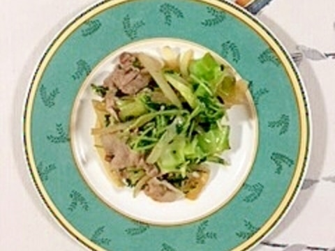 肉野菜炒め~♪