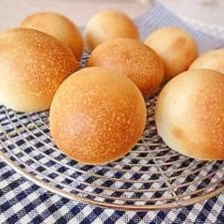 ホシノ天然酵母 で ミルクまるパン!