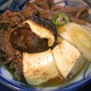 肉豆腐♡温ったか豆腐にお味がしみて♡