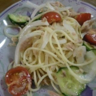 簡単スパサラダ
