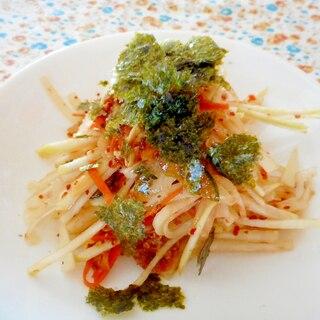 大根とキムチのサラダ
