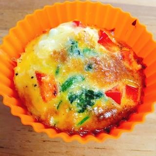 子供が喜ぶ。簡単。お弁当に。彩り卵カップ