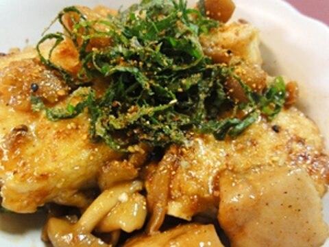 豆腐と鶏肉の和風煮