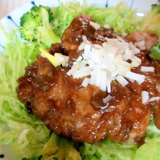 豚ヒレ肉の黒酢炒め