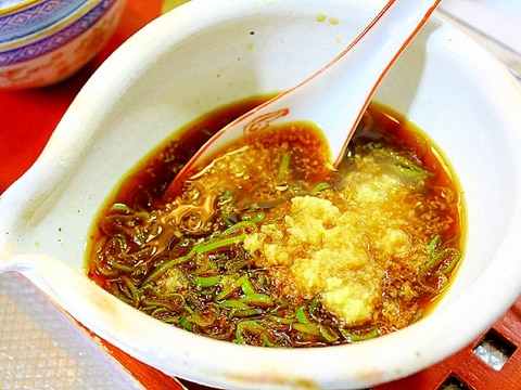 湯豆腐のたれ*ねぎ醤油