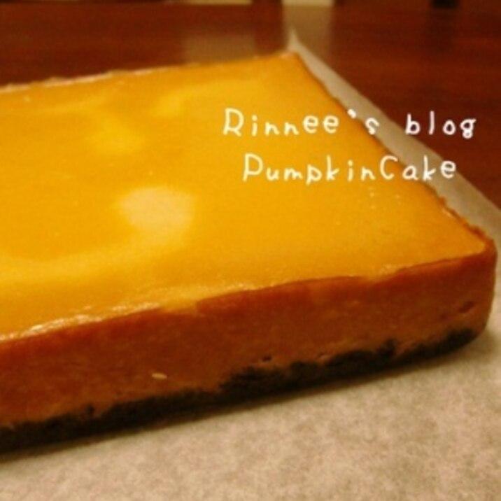 ★ハロウィン★かぼちゃとオレオのケーキ