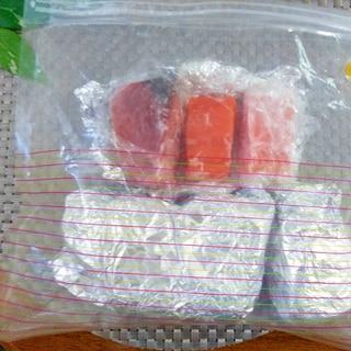 節約♩新鮮♩お刺身もブロックで買って賢く冷凍♡