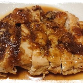 鶏むね肉のチキンステーキ☆オニオンソース