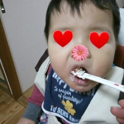 優しくてほっこりするお味♪ 一歳の子どもも美味しそうに食べてました!