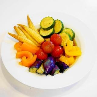 旬野菜の『作り置き』おかず!夏野菜の揚げびたし