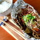 鶏肉と野菜のホイル焼き☆