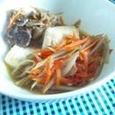 水切り不要 中華風肉豆腐