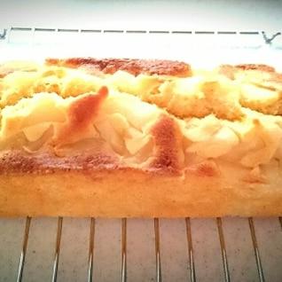 簡単!桃缶でしっとりパウンドケーキ
