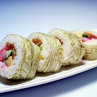 【昆布館】すし巻き昆布の巻き寿司