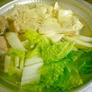 簡単鍋!博多水炊き
