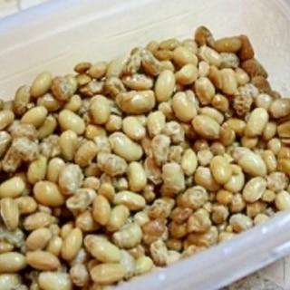 炊飯器で簡単培養☆毎日食べたい手作り納豆