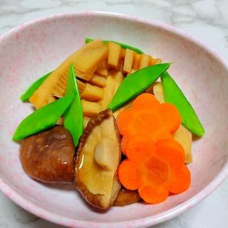 筍と春椎茸の煮物