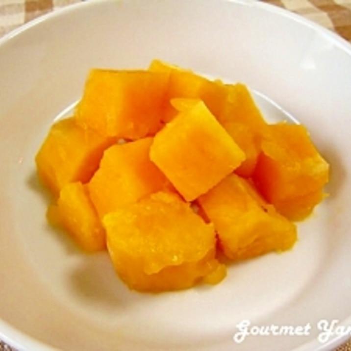 レンジで時短♪安納いもde柚子ハチミツのコロコロ煮