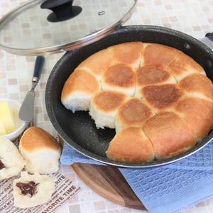 フライパンで作るちぎりパン