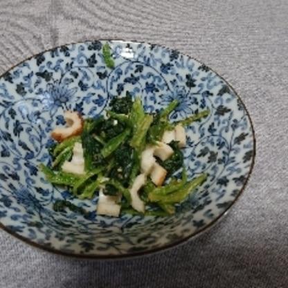 常備菜として作りました。 簡単なのに、美味しかったです。