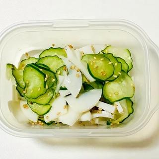 作り置き☆胡瓜と蒲鉾の簡単酢の物