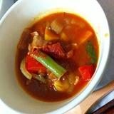 お鍋ひとつで野菜たっぷりトマトスープ