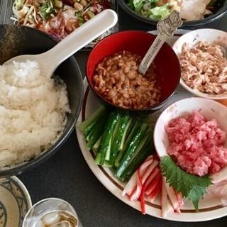 具材色々☆手巻き寿司パーティー