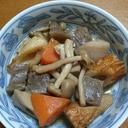 野菜とこんにゃくと竹輪の煮物