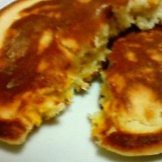 カボチャとヨーグルトのパンケーキ