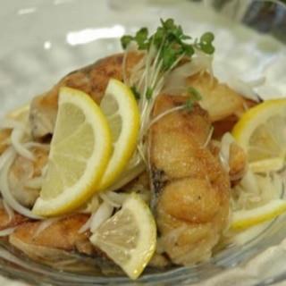 ノルウェー塩サバの★レモンマリネ
