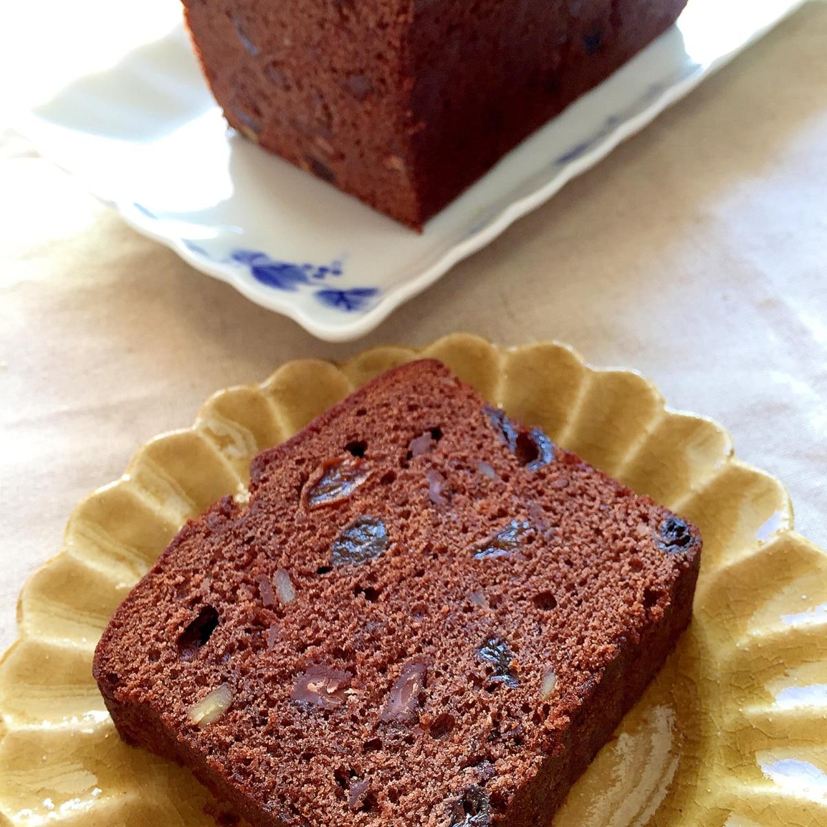 レシピ 人気 パウンド ケーキ チョコ