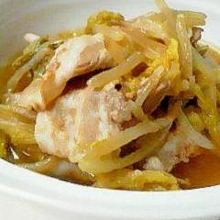 無水!ルクルーゼで白菜と豚肉の蒸し鍋。