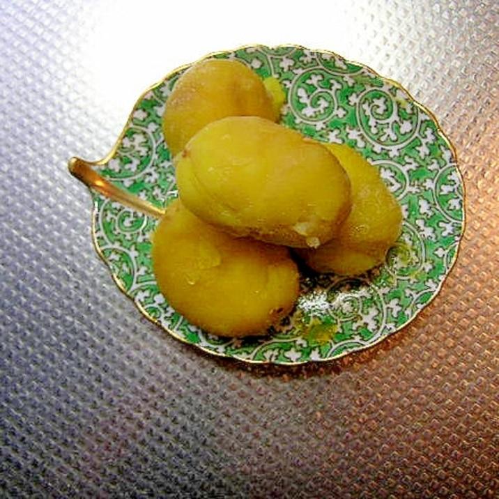 冷凍栗で栗の甘露煮