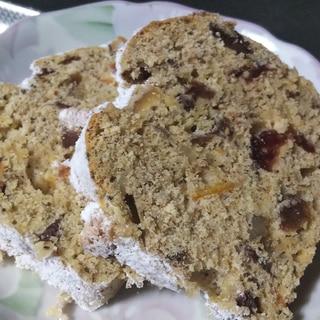 紅茶のシュトーレン風ケーキ