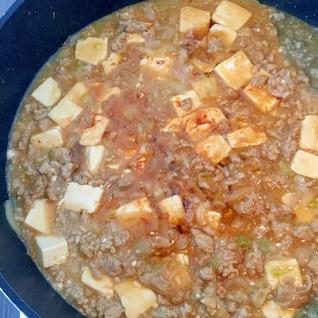 家にある調味料で!辛くないこくうま麻婆豆腐