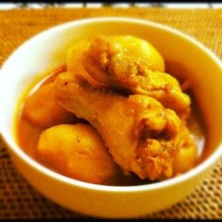 手羽元と根菜の韓国煮(タッカンマリ風)