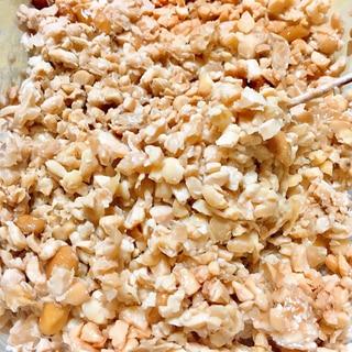 大豆から自家製引き割り納豆 脱プラスチック